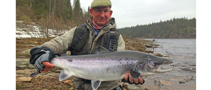 Spring salmon fishing does not get better than this