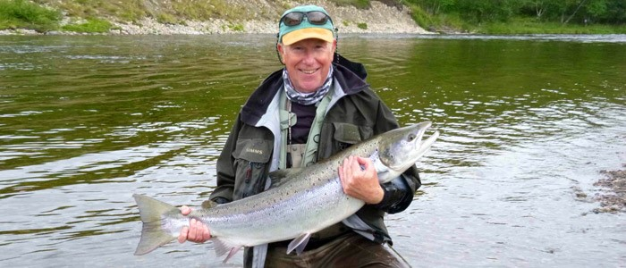 Client report from the Lakselva, Norway
