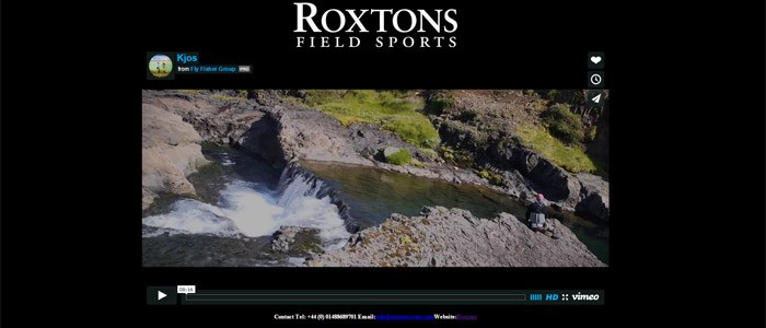 Iceland fishing footage now available