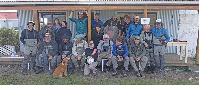 Charlie White reports on his hosted trip to Tierra Del Fuego