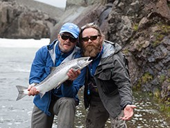 Iceland update: 25 fish landed by three rods on the Sela